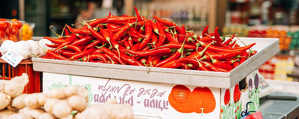 freelancing is a hot topic - dried chilies